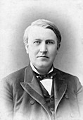 Thomas Edison, US inventor