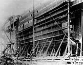SS Great Eastern construction