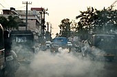 Mosquito repellent fogging operation