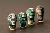 Iron Age decorative heads
