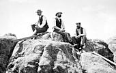 Holmes, Walcott and Gannett, US geologists, 1897