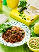 Mild Chilli Con Carne with Guacamole