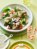 Chicken Popcorn Salad