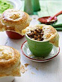 Beef and Black Bean Pies