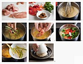 Hähnchencurry mit Reis zubereiten