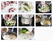 How to make veal fricassee