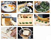 How to make ravioli with rocket