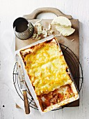Tomato, Beef and Pea Lasagne