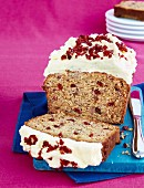 Cranberry Banana Cake with Cream Cheese Frosting