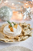 Baked Camembert for Christmas