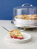 Apfel-Cranberry-Pie