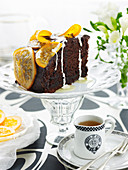 Brandy Marmalade Chocolate Cake