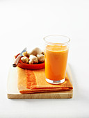 Carrot, Orange and Garlic Juice