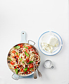 Gluten-Free Pasta with Fresh Tomato Sauce