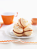 Orange Almond Macaroons