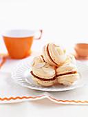 Orange Almond Macaroons