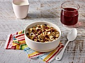 Muesli with dried cranberries