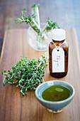 Essential oil of thyme (Thymus vulgaris)