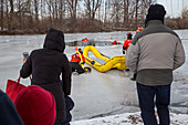 Ice Rescue demonstration
