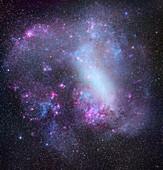 Large Magellanic Cloud, optical image