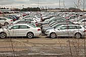 Volkswagen emissions buyback cars in storage