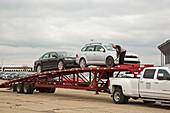 Volkswagen emissions buyback cars storage transport