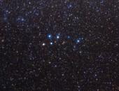 Delphinus constellation, optical image