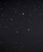 Libra constellation, optical image
