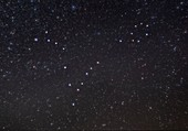 Pisces constellation, optical image
