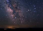 Scorpius constellation, optical image