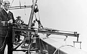 Hydrophone submarine detection, World War I