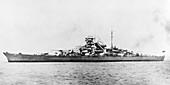 German battleship Bismarck, 1940