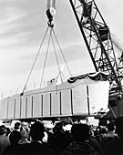 Trieste II submersible, 1964