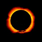 Total solar eclipse in X-rays, 20 May 2012