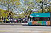 City centre tram, Detroit