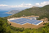 Solar Array in Greece