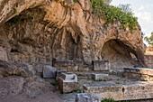 Plutonion at Eleusis, Greece.