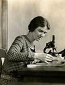 Margaret Mann Lesley, US geneticist and cytologist