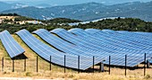 Photovoltaic power plant.