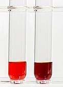 Halogen displacement reaction.