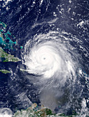 Hurricane Irma, satellite image