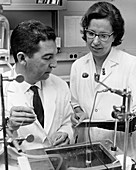 Leal Prado and his wife Eline Prado