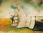 Businessmen, illustration