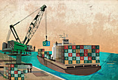 Software export, illustration