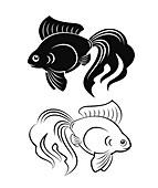 Goldfish, illustration