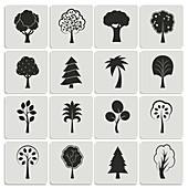 Trees, illustration