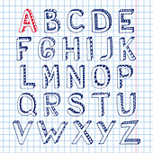 Alphabet, illustration