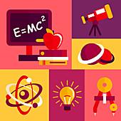 Physics, illustration