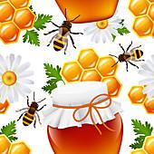 Honey, illustration