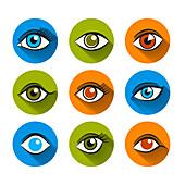 Eyes, illustration